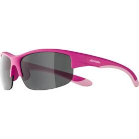 Alpina Flexxy HR Brille Jugend pink matt/black mirror